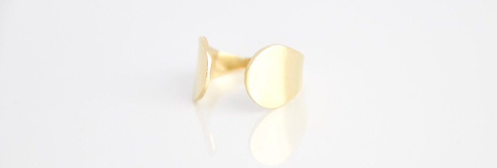 Keeva Solid Wrap Ring