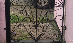 Gate made by blacksmith