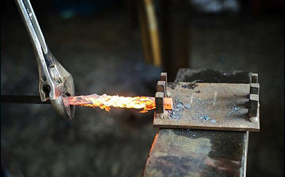 Blacksmith workshop Cornwall