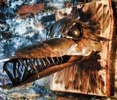 Stainless Steel Sculpture Dragon