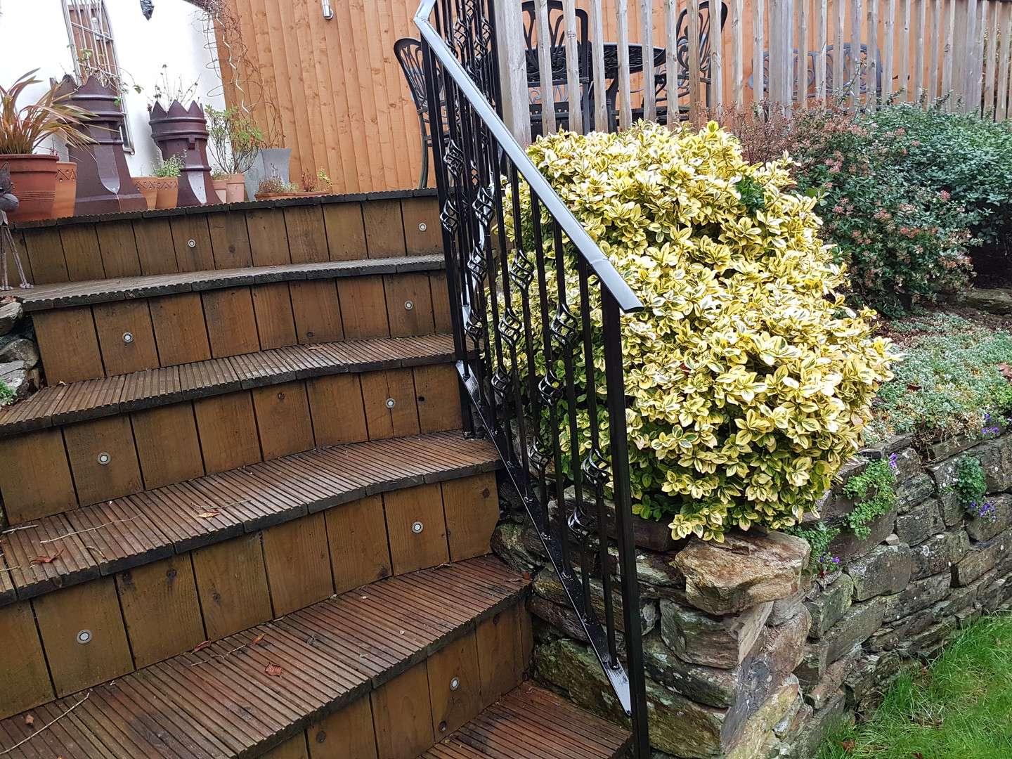 Wrought Iron wrailings
