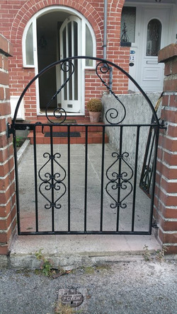 Gate in customer's design