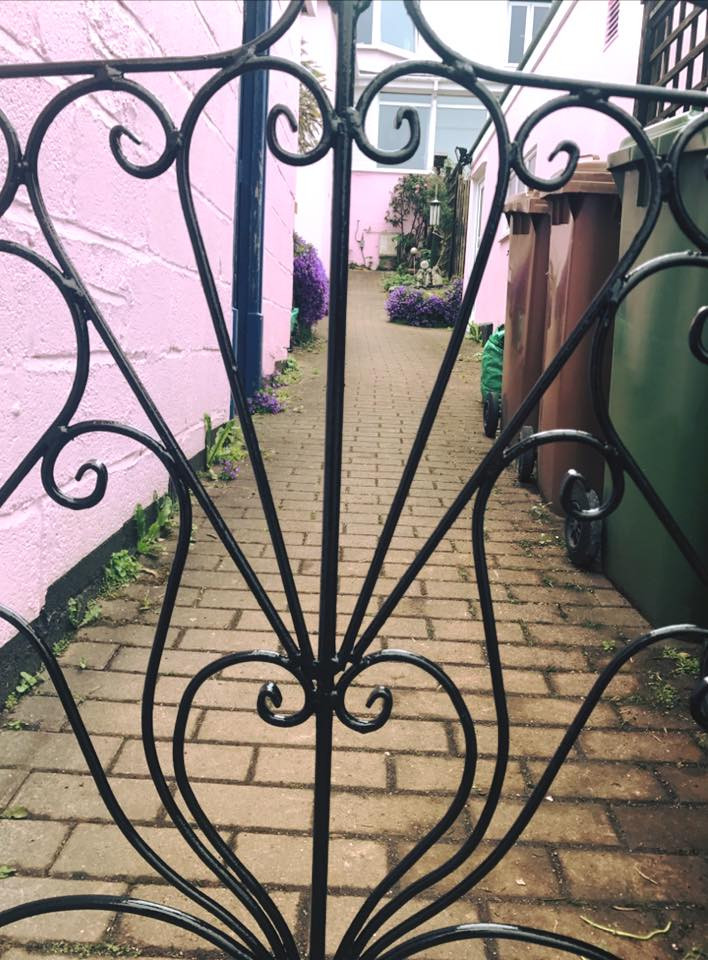 Hand made gate South East Cornwall