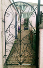 Wrought Iron Gate Plymouth