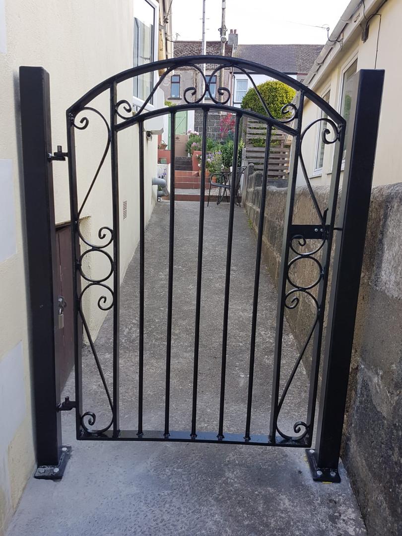 Hand Made Gate Cornwall