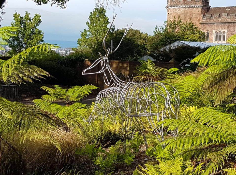 Fallow Deer Sculpture