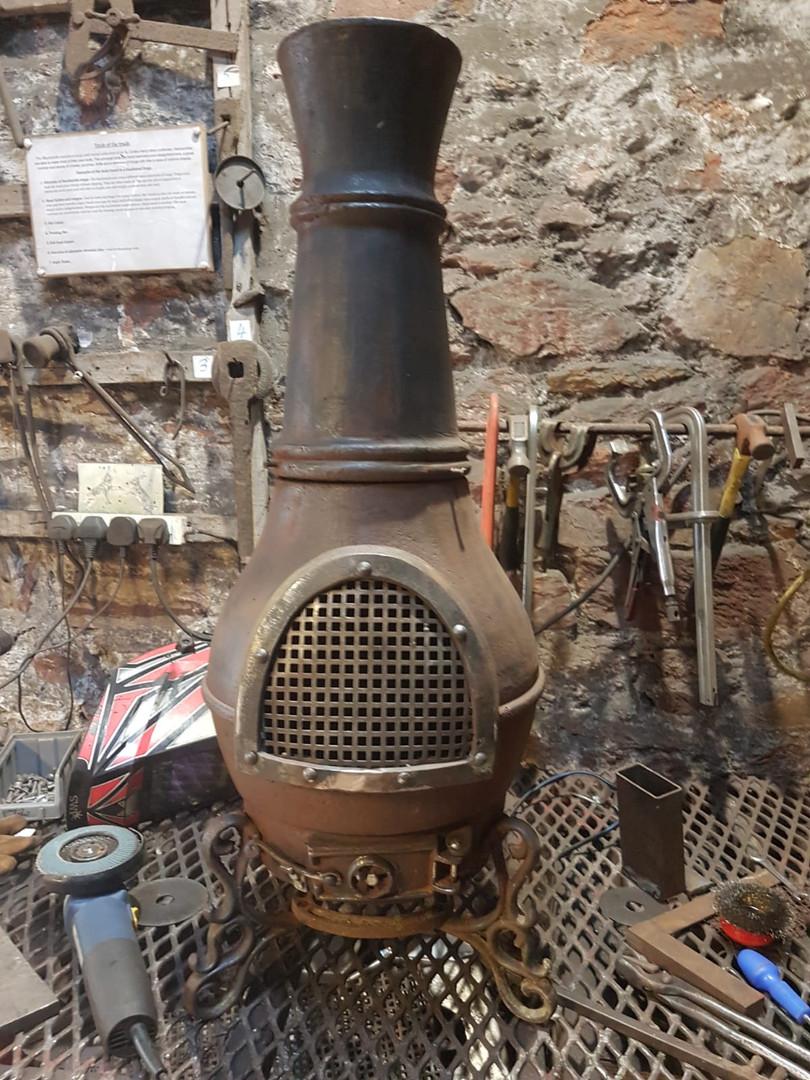 Chiminea restoration
