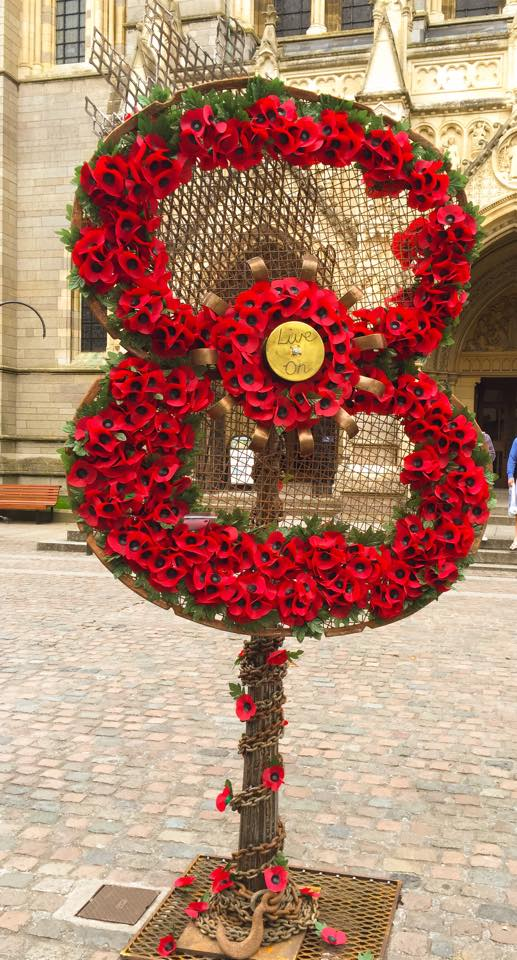 Poppy Sculpture