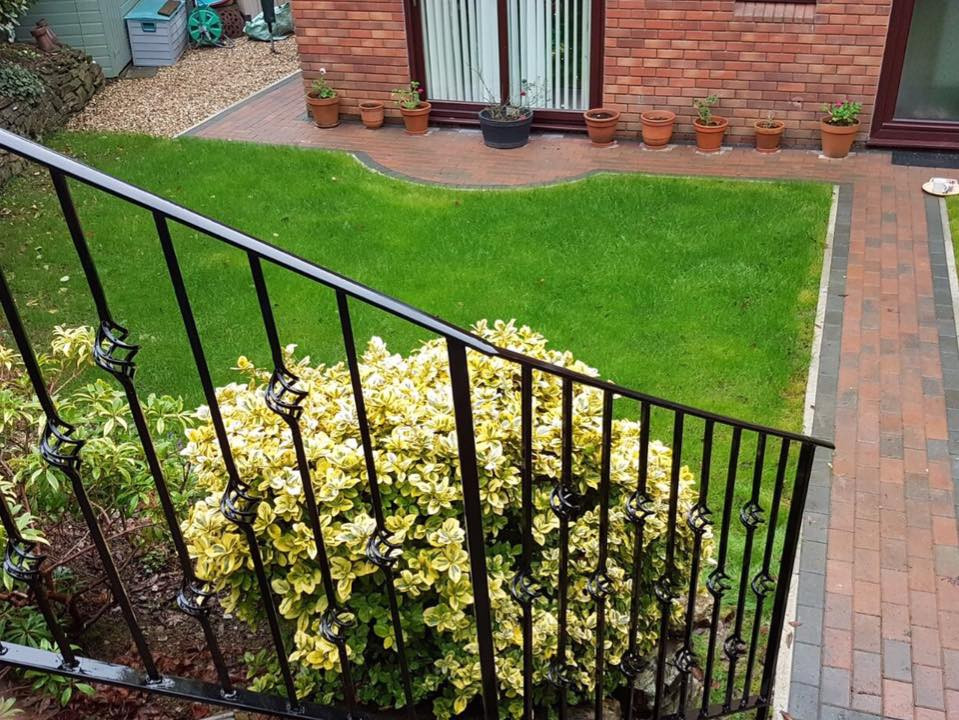 Garden railings Plymouth
