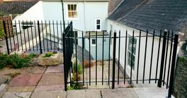 Hand made railings plymouth
