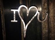 I love you key holder