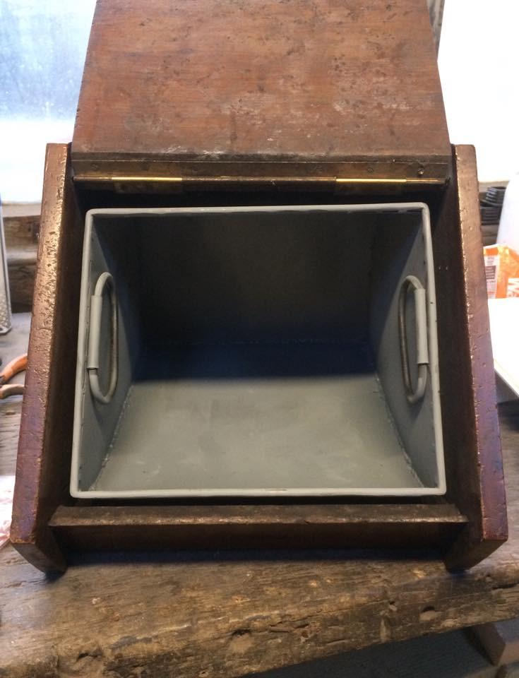 Coal scuttle restoration