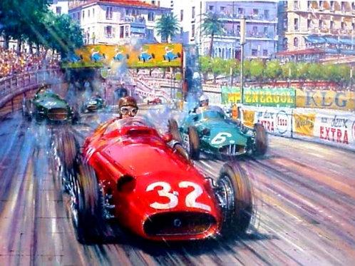 Red over Green - Monaco Grand Prix 1957