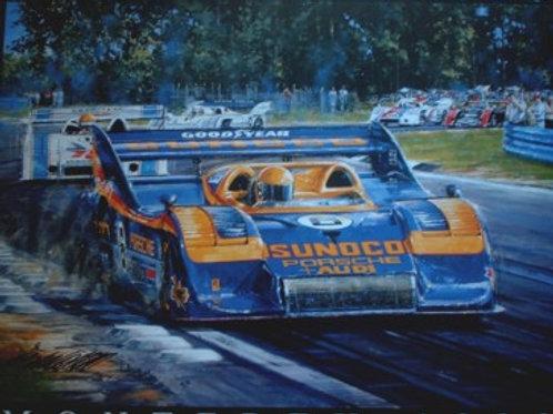 Monterey 98 Poster - Sunoco Porsche 917/30