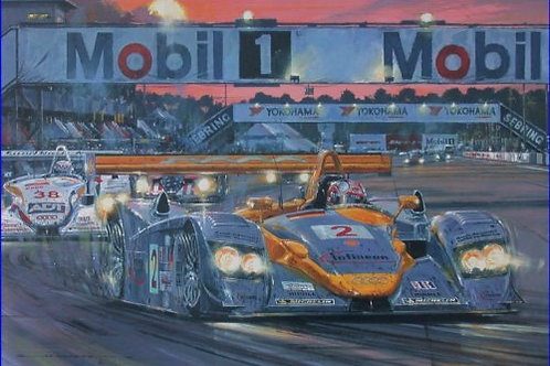 Audi at Sebring - 2002