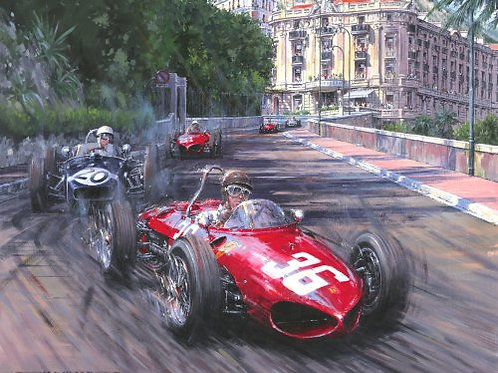 Through the Shadows - Monaco G.P. 1961