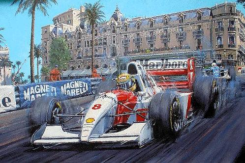 Master of Monaco - Ayton Senna 1993