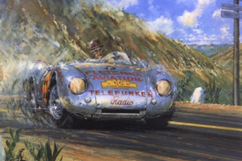 Carrera Porsche - Porsche 550 Spyder 1954