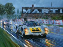Nicholas Watts Porsche Le Mans 1966