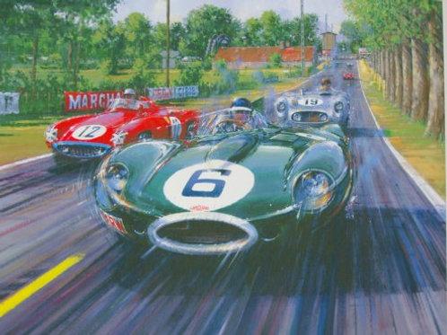 Battle Royal - Le Mans 1955