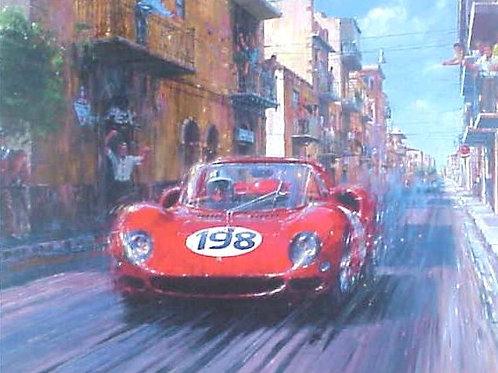 Seeing Red - Targa Florio 1965