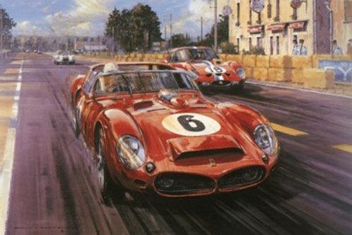 Mulsanne Shadows - Le Mans 1962