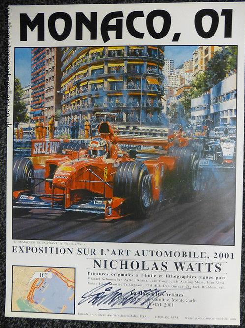 Monaco 2001 Exhibition Poster