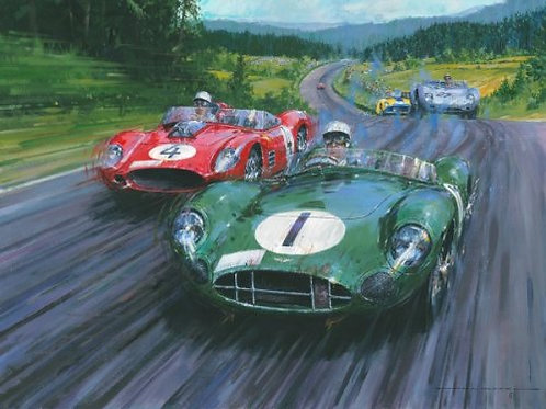 Moss - Master of the Nurburgring 1959