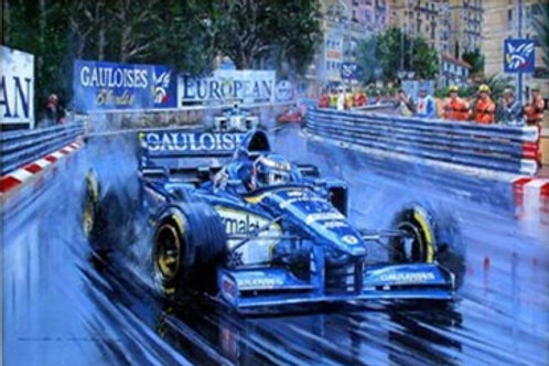 Monaco G.P. 1996 - Olivier Panis