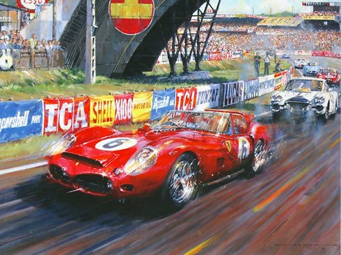 Last of the Redheads - Le Mans 1962