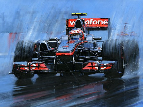 Button Victorious - Canadian G.P. 2011