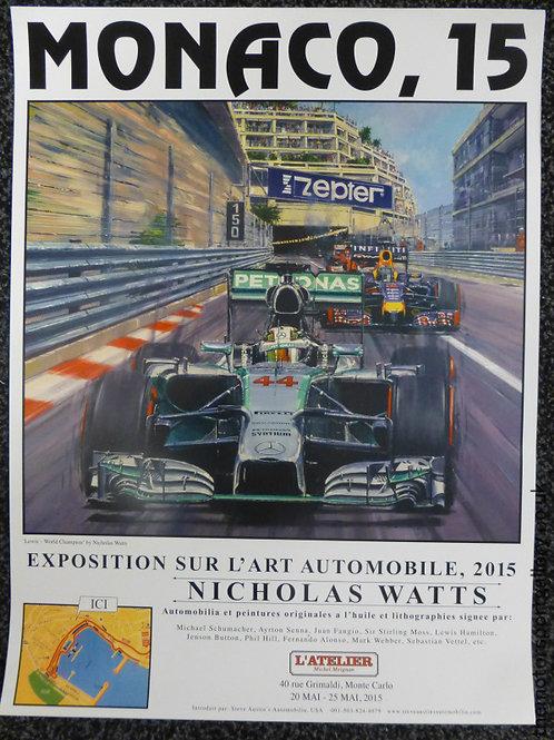 Monaco 2015 Exhibition Poster
