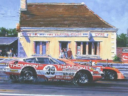 Daytona onto Mulsanne - Le Mans 1973