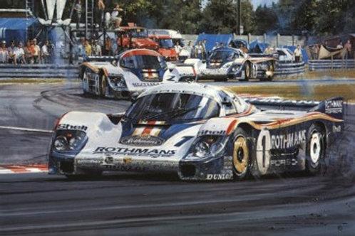 Porsche Domination - Le Mans 1982