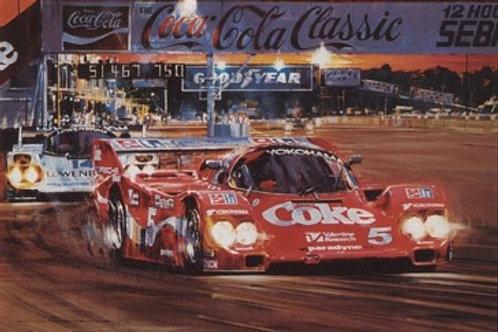 Duel at Sunset - Sebring 1986