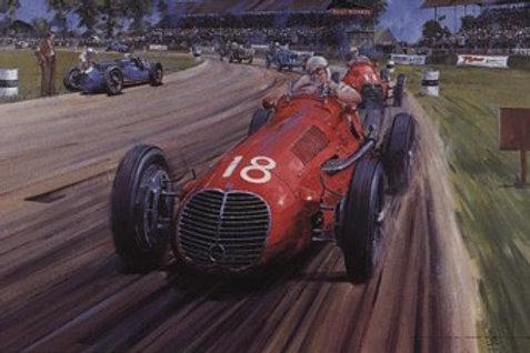 The Italian Job - Silverstone 1948