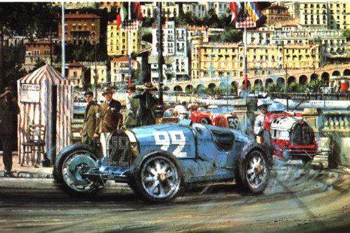 Monaco G.P. 1930 - Bugatti Type 35