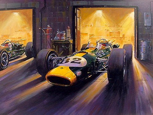 Awaiting the Day - Indy 500 1965