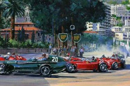 1st Corner Monaco 1957