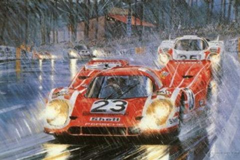 Victory for Porsche - Le Mans 1970