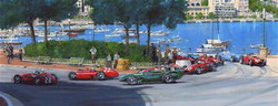 Nick Watts 1st corner Monaco 1956