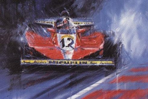 Ragged Edge - Gilles Villeneuve Canadian G.P. 1978