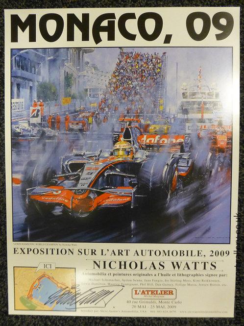 Monaco 2009 Exhibition Poster