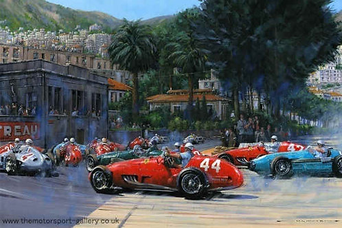 A good day for Maurice - Monaco GP 1955