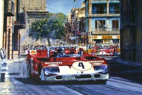 Alfa through Campofelice - Targa Florio 1972