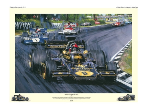 Black and Gold Victory - British G.P 1972