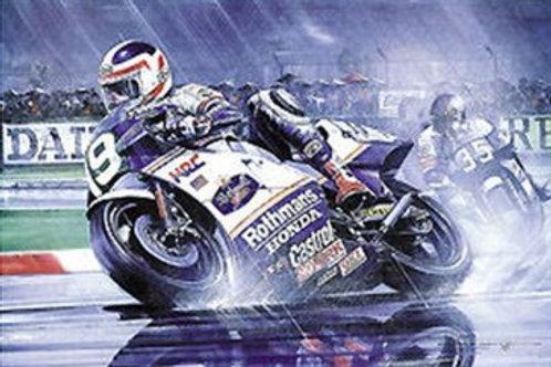 Double Take - Freddie Spencer Rothmans Honda