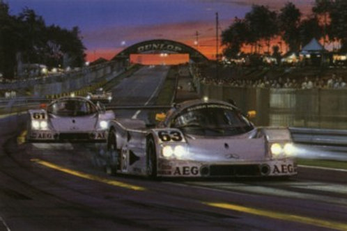 Return of the Silver Arrows - Le Mans 1989