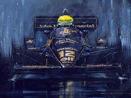 Maiden Victory for Ayrton Senna -Estoril 1985