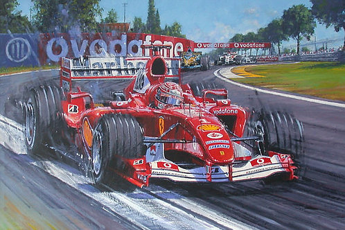 Michael Schumacher Champion Supreme 2004